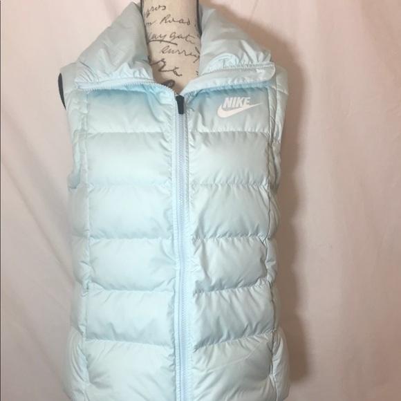 b2ec333838c Nike Jackets & Coats   New Womens Large Down Filled Vest   Poshmark
